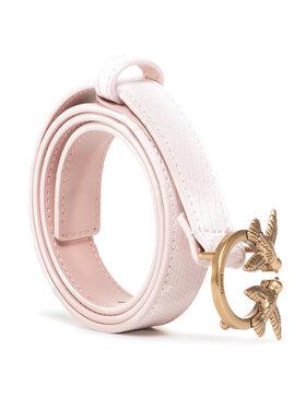 Pinko Pinko Damengürtel Berry Small 3 Belt Al 20-21 PLT01 1H20S3 Y6EN Rosa