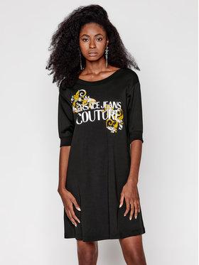 Versace Jeans Couture Versace Jeans Couture Sukienka codzienna D2HZA4TA Czarny Regular Fit