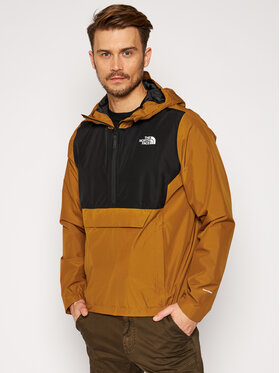 The North Face The North Face Яке за дъжд Fanorak NF0A3XZMVC71 Кафяв Regular Fit