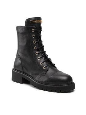 Giuseppe Zanotti Giuseppe Zanotti Outdoorová obuv I070010 Čierna