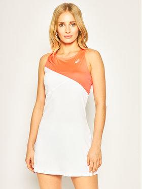Asics Asics Sukienka tenisowa Club W 2042A097 Biały Slim Fit