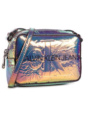 Calvin Klein Jeans Calvin Klein Jeans Дамска чанта Camera Bag Iridescent K60K607379 Цветен