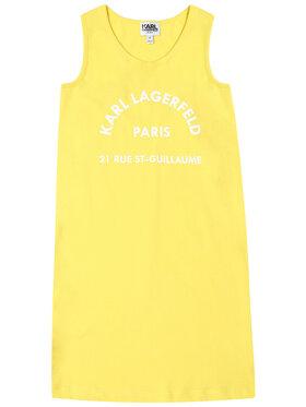 KARL LAGERFELD KARL LAGERFELD Robe de jour Z12148 M Jaune Regular Fit