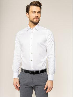 JOOP! Joop! Marškiniai Piercek 30018881 Balta Slim Fit