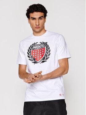 PROSTO. PROSTO. T-Shirt KLASYK Cesar 1033 Weiß Regular Fit