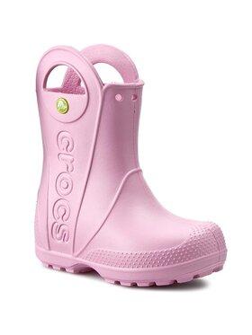 Crocs Crocs Bottes de pluie Handle It Rain Boot Kids 12803 Rose
