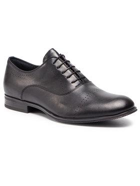 Gino Rossi Gino Rossi Pantofi Chuck MPU299-N82-5J00-9900-0 Negru