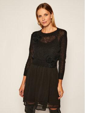 TwinSet TwinSet Komplet sukienka letnia i sweter 202TP3262 Черен Regular Fit