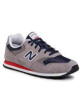 New Balance New Balance Sneakersy ML393SH1 Šedá