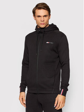 Tommy Hilfiger Tommy Hilfiger Sweatshirt Logo Fleece MW0MW17256 Schwarz Regular Fit