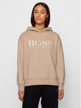 Boss Boss Sweatshirt C_Edelight_Active 50457385 Beige Relaxed Fit