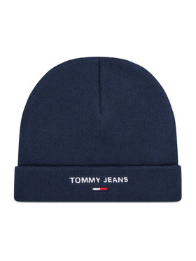 Tommy Jeans Tommy Jeans Czapka Sport Beanie AM0AM07678 Granatowy
