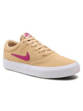Nike Nike Tenisówki Nike Sb Charge Suede CQ2470 200 Żółty