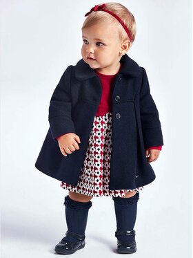 Mayoral Mayoral Cappotto 2434 Blu scuro Regular Fit