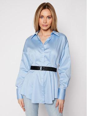 Guess Guess Koszula Rhianna W1RH68 WAF10 Niebieski Regular Fit