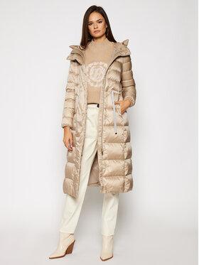 Geox Geox Zimný kabát Tahina W0425G T2412 F5186 Béžová Regular Fit
