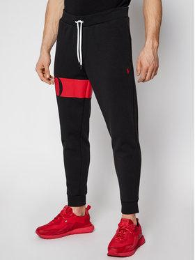 Polo Ralph Lauren Polo Ralph Lauren Teplákové kalhoty Double Knt Cvs 710828117001 Černá Regular Fit