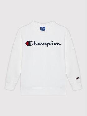 Champion Champion Mikina Crewneck 305766 Biela Regular Fit