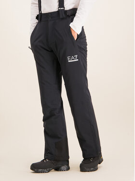 EA7 Emporio Armani EA7 Emporio Armani Lyžařské kalhoty 6GPP05 PNQ7Z 1200 Černá Regular Fit