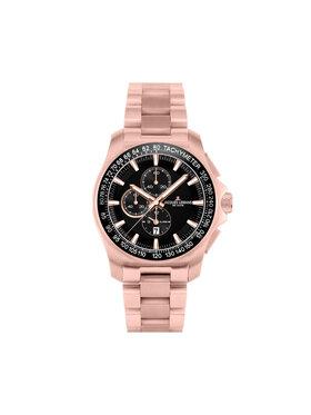 Jacques Lemans Jacques Lemans Zegarek 1-1990B Różowy