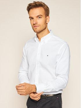 Tommy Hilfiger Tailored Tommy Hilfiger Tailored Koszula Oxford Button Down TT0TT07725 Biały Slim Fit