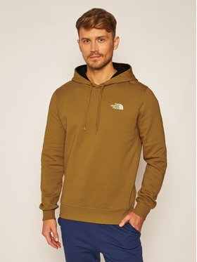 The North Face The North Face Mikina Seasonal Drew Peak NF0A2TUVVC71 Hnedá Regular Fit