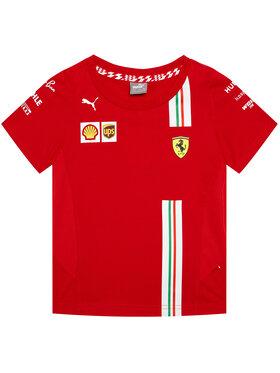 Puma Puma T-Shirt Sf Team 762915 Czerwony Regular Fit