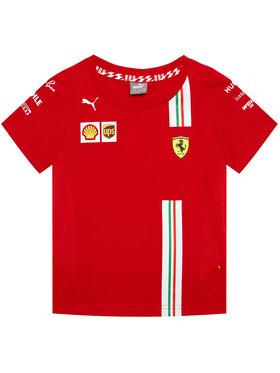 Puma Puma T-Shirt Sf Team 762915 Κόκκινο Regular Fit