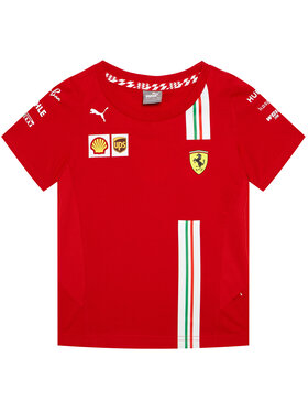 Puma Puma T-Shirt Sf Team 762915 Rot Regular Fit