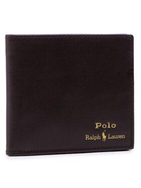 Polo Ralph Lauren Polo Ralph Lauren Velká pánská peněženka Mpolo CO D2 405803865001 Hnědá
