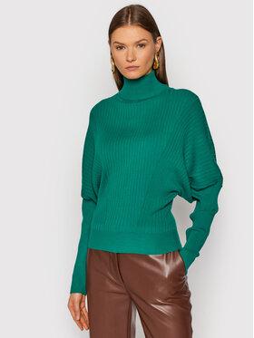 TWINSET TWINSET Bluză cu gât 212TT3093 Verde Regular Fit