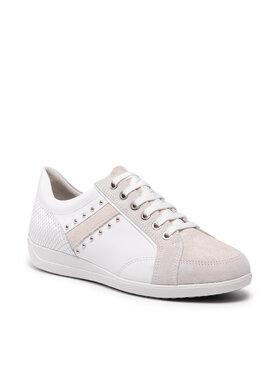 Geox Geox Sneakersy D Myria H D0468H 08577 C1352 Biały