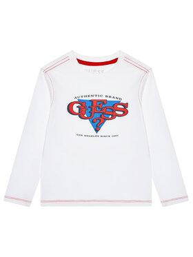 Guess Guess Μπλουζάκι L1YI02 K8HM0 Λευκό Regular Fit