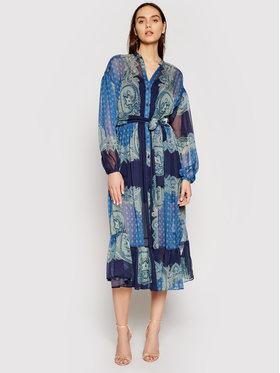 TWINSET TWINSET Sukienka letnia 211TT2210 Granatowy Regular Fit