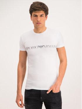 Emporio Armani Underwear Emporio Armani Underwear T-Shirt 111035 9A516 00010 Biały Regular Fit