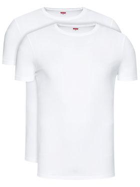 Levi's® Levi's® 2-dílná sada T-shirts 905055001 Bílá Regular Fit