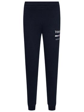 Tommy Sport Tommy Sport Pantaloni trening Graphic S10S100699 Bleumarin Slim Fit