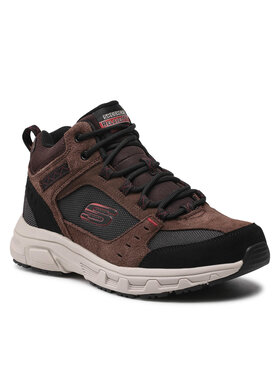 Skechers Skechers Παπούτσια πεζοπορίας Ironhide 51895/CHOC Καφέ