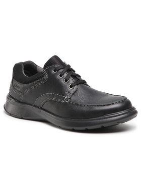 Clarks Clarks Pantofi Cotrell Edge 261202117 Negru