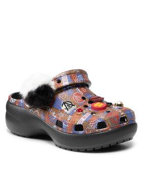 Crocs Crocs Šľapky Classic Cruella II Platformcgw 207399 Čierna