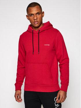 Calvin Klein Calvin Klein Pulóver Small Chest Logo K10K107165 Piros Regular Fit