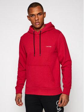 Calvin Klein Calvin Klein Суитшърт Small Chest Logo K10K107165 Червен Regular Fit
