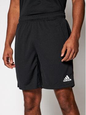 adidas adidas Sportiniai šortai All Set 9-Inch FJ6156 Juoda Regular Fit