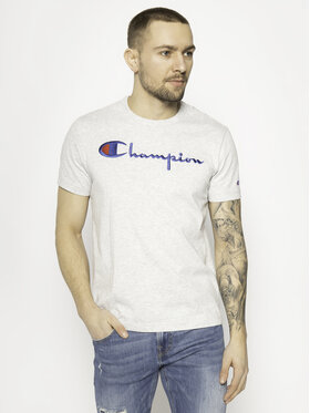 Champion Champion T-Shirt 210972 Szary Regular Fit