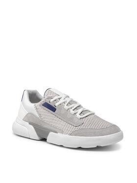 Geox Geox Sneakersy U Smoother A U15AFA 01422 C1236 Sivá