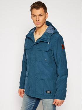 Quiksilver Quiksilver Striukė Fresh Evidence EQYJK03543 Mėlyna Classic Fit