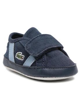 Lacoste Lacoste Chaussures basses Sideline Crib 0120 1 Cub 7-40CUB00017E9 Bleu marine