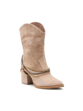 Carinii Carinii Členková obuv B7174 Béžová