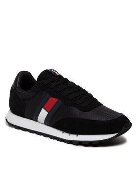Tommy Jeans Tommy Jeans Sneakersy Retro Mix Tjm Runner EM0EM00812 Čierna