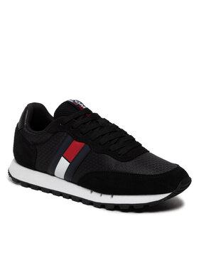 Tommy Jeans Tommy Jeans Sportcipő Retro Mix Tjm Runner EM0EM00812 Fekete